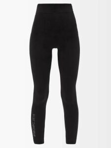 Joseph - Arran Striped Cowl Neck Wrap Shirt - Womens - Blue Stripe