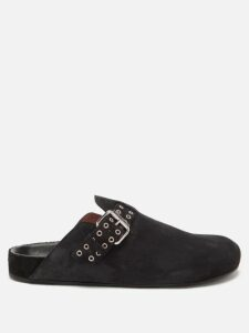 Jw Anderson - Swallow Embroidered Contrast Panel Linen Skirt - Womens - Cream