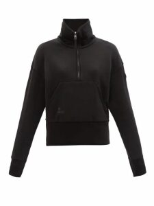 Osman - Talitha Gathered Sleeve Crepe Dress - Womens - Fuchsia