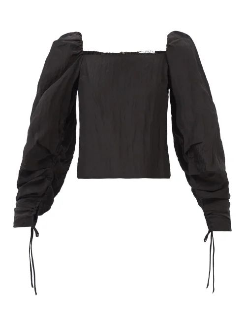 Gabriela Hearst - Frazier Tie Waist Duchess Satin Coat - Womens - Ivory