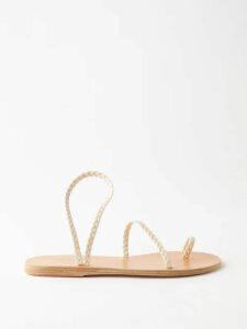 Altuzarra - Vivienne Broderie Anglaise Gathered Dress - Womens - Black Print