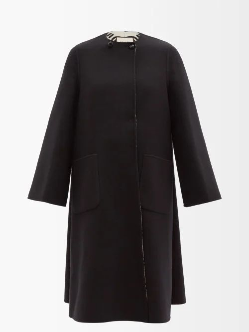 Maison Margiela - Raw Edge Rose Print Organza Dress - Womens - Nude Print