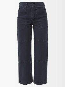 By Walid - Akiko Embroidered Silk Kimono Style Jacket - Womens - Beige Multi