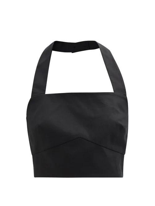 Norma Kamali - Sleeping Bag Knee Length Coat - Womens - Red