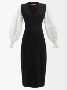 Norma Kamali - Sleeping Bag Knee Length Coat - Womens - Red