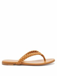 Msgm - Houndstooth Wool Blend Coat - Womens - Brown Multi