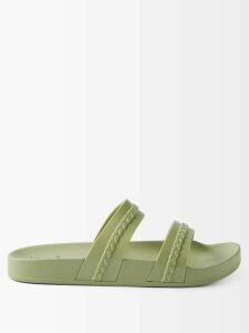Fendi - Embroidered Voile Gown - Womens - White Multi