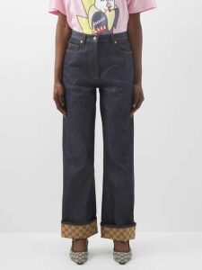 Diane Von Furstenberg - Leaf And Floral Macramé Lace Pencil Dress - Womens - Blue