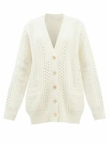 Sies Marjan - Terry Crinkled Wool Blend Blazer - Womens - Blue