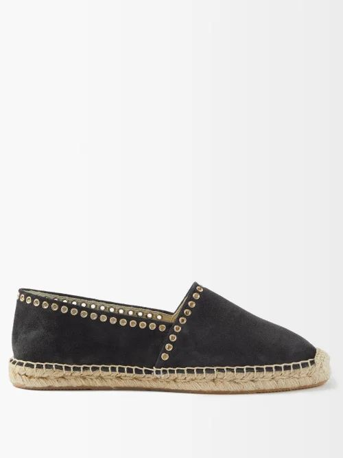Jw Anderson - Pleated Panel Striped Cotton Shirt - Womens - White Black