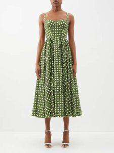 Ashish - Houndstooth Sequin Embellished Mini Dress - Womens - Multi
