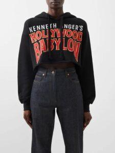 Peter Pilotto - Jacquard Satin Trench Coat - Womens - Navy Print