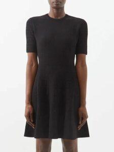 Koché - Satin Trimmed Oversized Cotton Shirt - Womens - Pink White