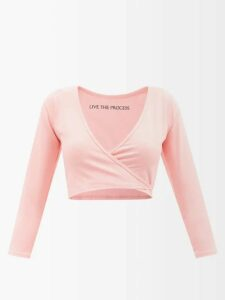 Moncler - Logo Embroidered Wool Blend Sweater - Womens - Black