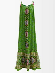Balenciaga - Single Breasted Wool Blend Coat - Womens - Brown Multi