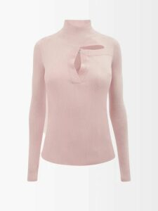 Fendi - Heart Beat Jacquard Coat - Womens - Multi