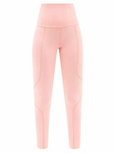 Balmain - Chevron Striped Bow Embellished Mini Dress - Womens - Black Blue