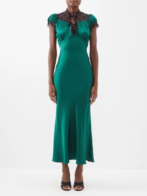 Maison Margiela - Virgin Wool Open Back Coat - Womens - Red
