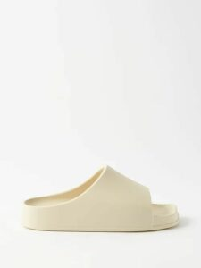 Maison Margiela - Virgin Wool Open Back Coat - Womens - Red