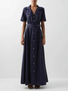 Acne Studios - Logo Print Hooded Sweatshirt - Womens - Black
