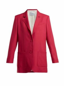 Racil - Alfred Single Breasted Wool Blazer - Womens - Pink