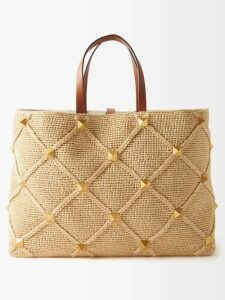 Prada - U Print Wrap Style Cotton Skirt - Womens - Orange Print