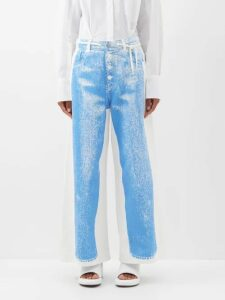 Jil Sander - Fullerton Floral Wool And Alpaca Blend Coat - Womens - Brown Multi