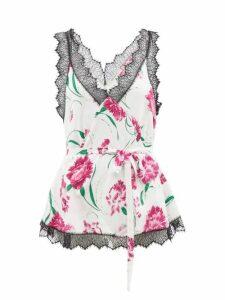 Roksanda - Elsta Wool Roll Neck Sweater - Womens - Pink Multi