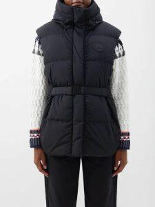 Johanna Ortiz - New Sunrise Floral Print Velvet Gown - Womens - Blue Multi