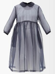 Rochas - Floral Brocade Midi Skirt - Womens - Gold Multi