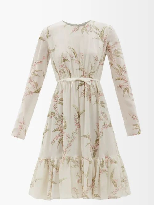 Raey - Displaced Sleeve Ribbed Roll Neck Wool Sweater - Womens - Grey