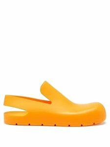 Emilia Wickstead - Arlene Contrast Panel Stretch Crepe Dress - Womens - Orange