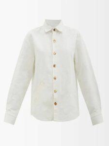 Altuzarra - Pavilion Bandana Print Silk Dress - Womens - Red White