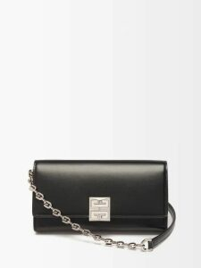 Valentino - Flocked Floral Velvet Dress - Womens - Blue Multi