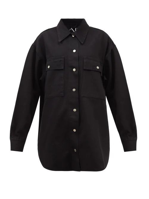 Helmut Lang - Round Neck Checked Semi Sheer Dress - Womens - Black Multi