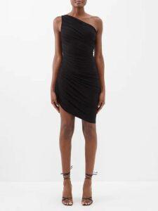 Bottega Veneta - Sequin And Eyelet Embellished Crepe Dress - Womens - Light Red
