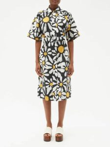 Givenchy - High Neck Knit Top - Womens - Red