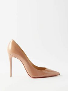 Valentino - Animal Eye And Print Embroidered Tulle Dress - Womens - Green Print