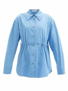 Rebecca Taylor - Magnolia Floral Print Silk Blend Dress - Womens - Navy Multi