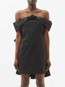 Hillier Bartley - Contrast Panel Cashmere Sweater - Womens - Black Pink