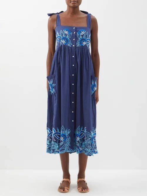 Acne Studios - Boat Neck Cotton T Shirt - Womens - Black