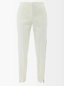 Roksanda - Herona Abstract Print Silk Satin Dress - Womens - Yellow Multi