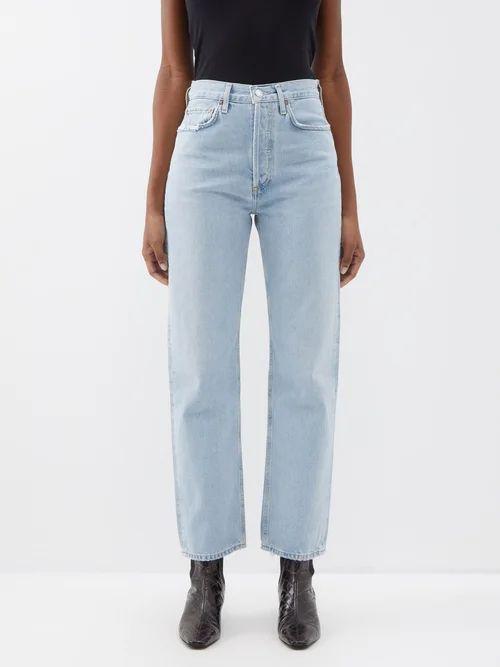 Marine Serre - Scarf Print Cowl Back Handkerchief Hem Dress - Womens - Multi