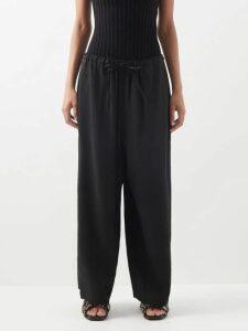 Raey - Pocket Front Cashmere Midi Dress - Womens - Charcoal