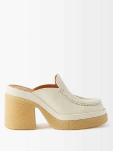 Balenciaga - Striped Pleated Crepe Skirt - Womens - Black White