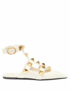 Valentino - Pleated Silk Crepe De Chine Blouse - Womens - Green