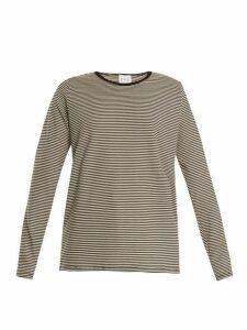 Eve Denim - Alexa Striped Jersey T Shirt - Womens - Black White
