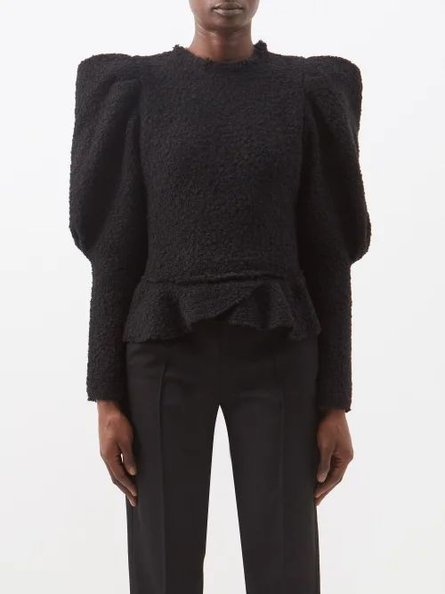 Marni - Embroidered Eyelet A Line Midi Skirt - Womens - Pink Multi