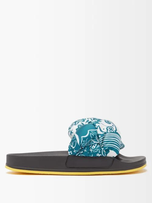 Redvalentino - Ruffle Trimmed Lace Dress - Womens - Ivory