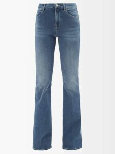 Erdem - Petunia Mariko Meadow Print Silk Gown - Womens - Black Print